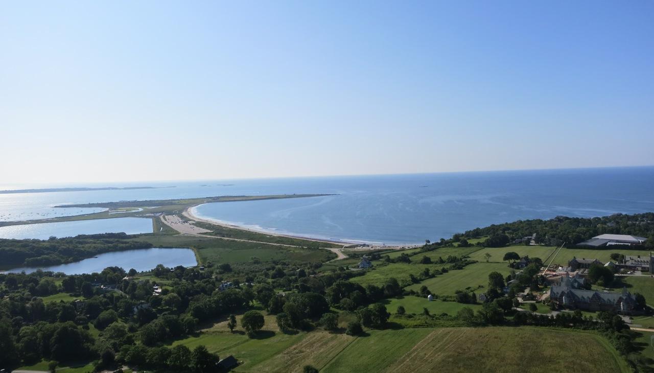 Aerial Photograph - Rhode Island 2014 summer - Hanging Rock, more ...