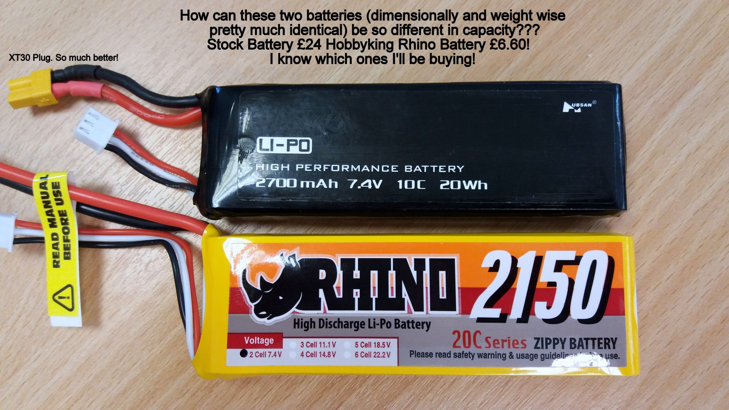 hubsan h501s batteria  Found! An Alternative Flight Battery For Hubsan H501S! | DroneFlyers ...