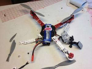 Quadcopter after Crash!